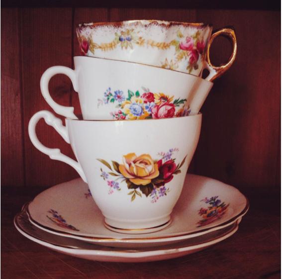 vintage teaset