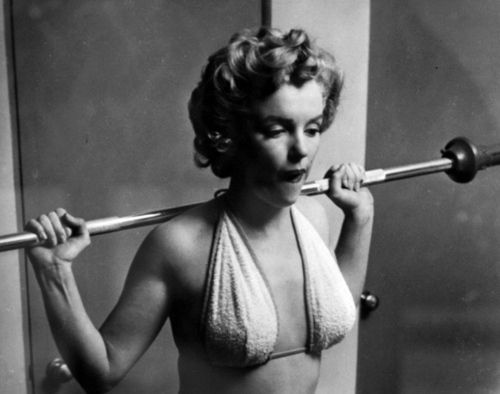 Take it from the Queen of the hourglass, weight training can beautifully sculpt, define and create curves.