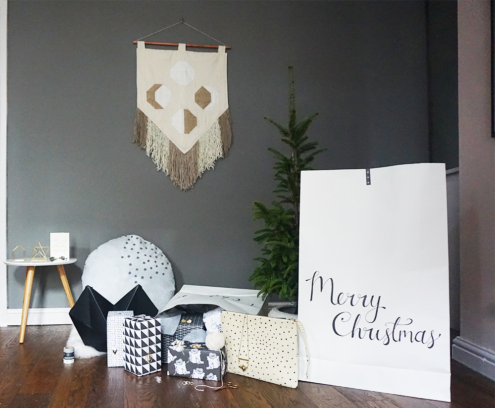 Super-size Santa sacks by Bloomingville suitable for grown-ups who still like to be spoilt!
