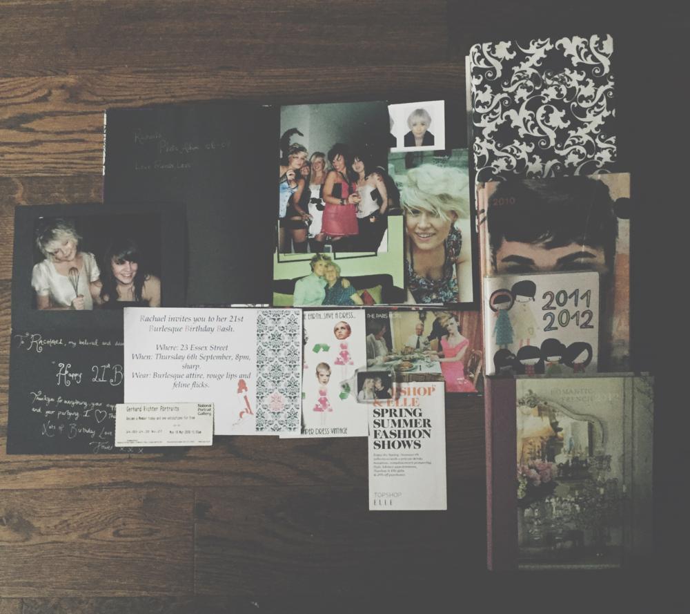 My memory box, 2006 - 2012.