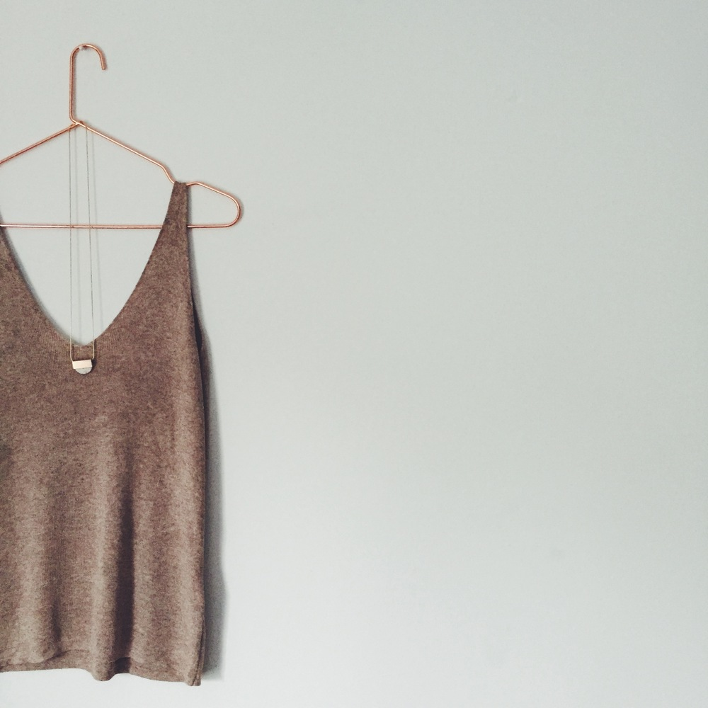 OBJECT STYLE SUMMER KNIT CAMI VEST