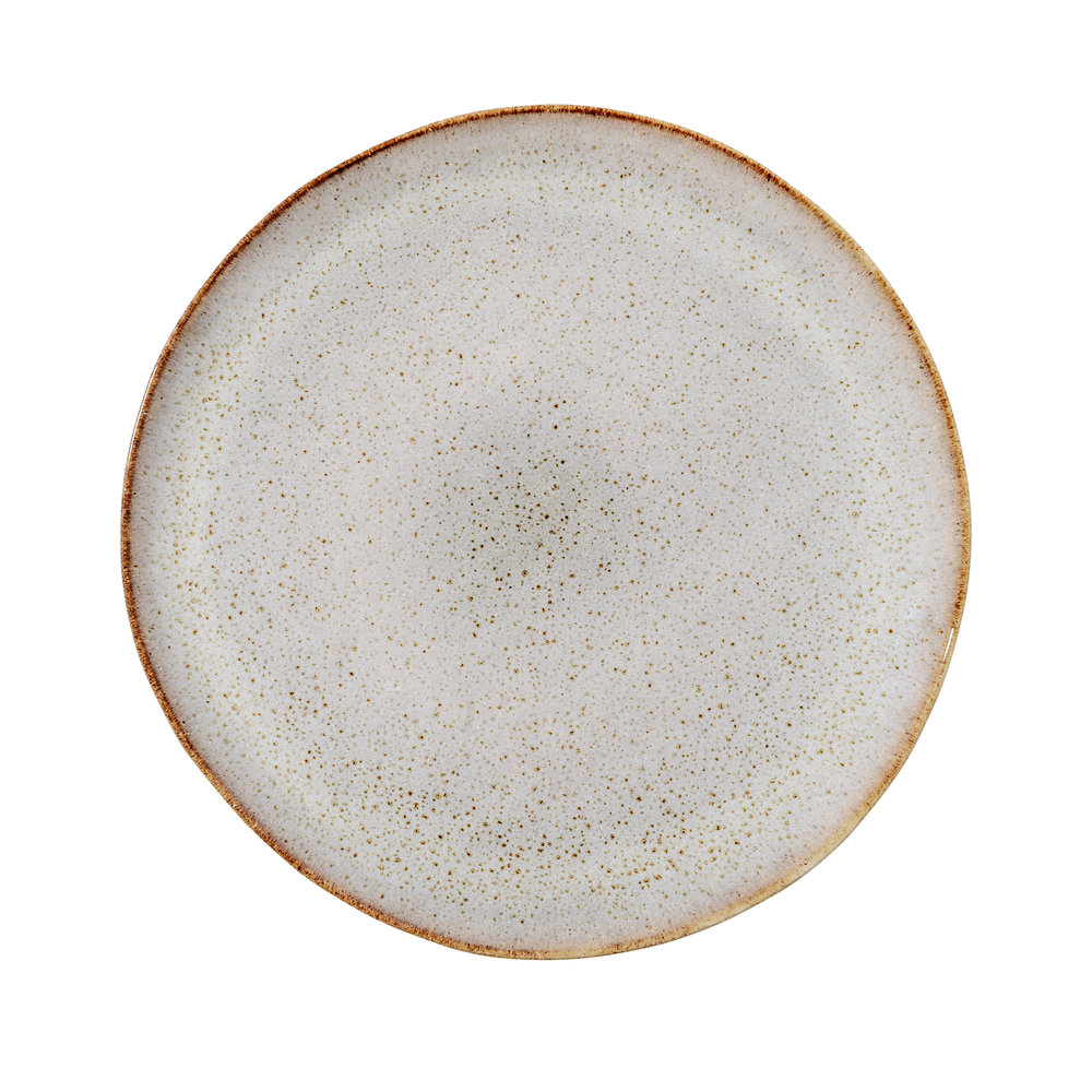 #010 Brown Stoneware Glazed   Dinner Plate   28.5cm Hire Price - £5.20 Minimum Order 10 Current Stock Available 60