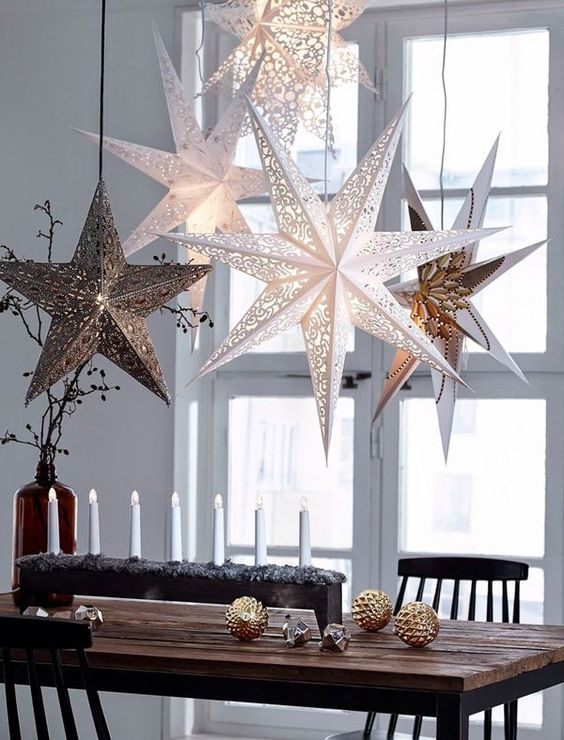 How to style A Modern Rustic Christmas Table
