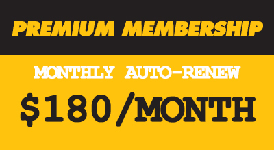 MONTHLY AUTO-PAY UNLIMITED CLASSES  (4 MONTH COMMITMENT)  •Unlimited Classes • Towel Service •Additional 12 Hours of Advanced Booking •50% off Heart Rate Monitor or Apparel Item  • Premium Member keychain •10% off all merch   •10% off workshops & series •Exclusive Premium Member Events   • Live heart rate tracking •Auto-Renew Membership •Set your own start date •Free Class cards to give to friends •Can be put on hold if you're away