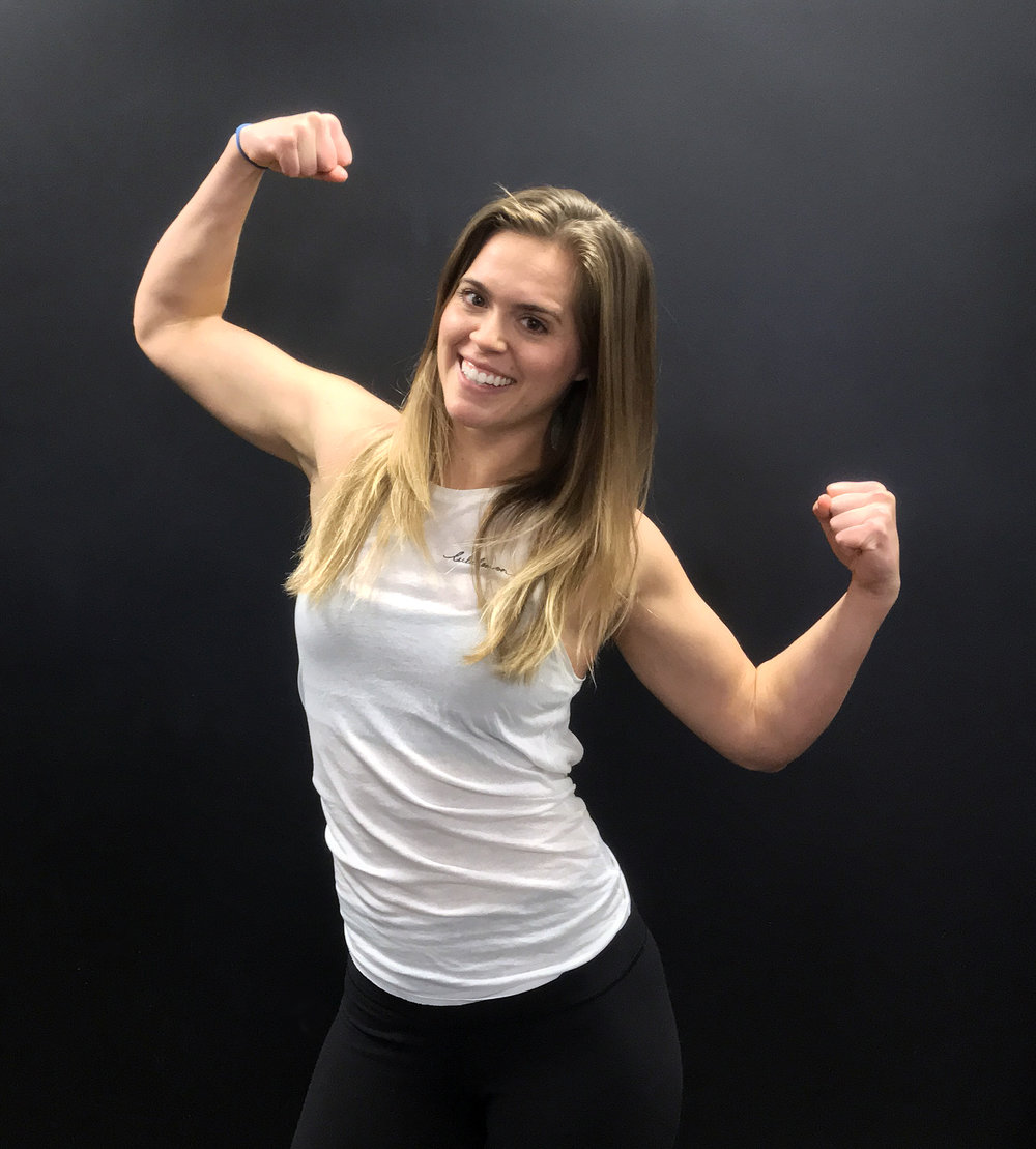 Rebecca Rousseau Instructor   Rebecca is outgoing, and fun-loving with a passion for health and fitness. Her motivation is to see her clients and members achieve their goals, and strive toward being their best selves.  For the last three years, she has worked as a Personal Trainer living out her dreams working with teams, groups, and individuals. In addition to her personal training certifications, she has a specialty in fitness nutrition and functional range conditioning.  Rebecca is always furthering her education in the health and fitness industry, to help maximize what she can offer her clients. When Rebecca isn't working with clients, you can find her on the field playing Australian Rules Football for the Ottawa Swans, and the Canadian development team.