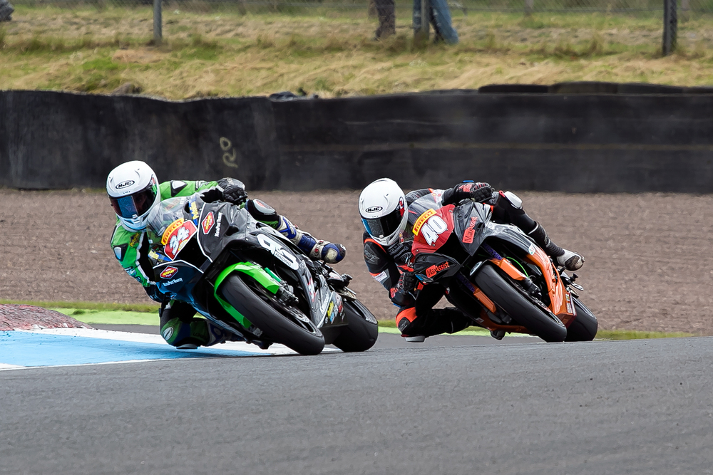 Photo from Knockhill qualifying by  www.burnoutmedia.uk