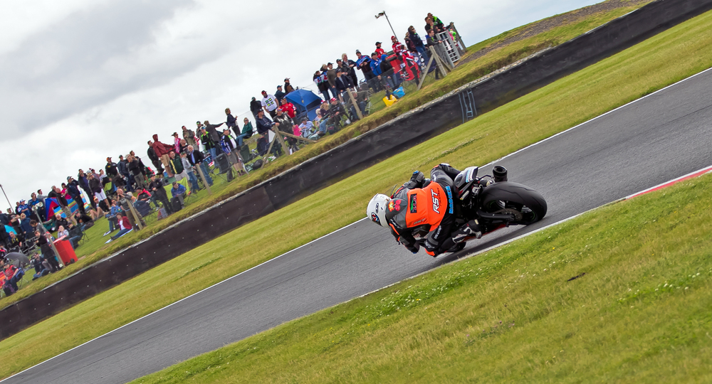 Nadieh during the race at Snetterton, photo by  www.burnoutmedia.uk