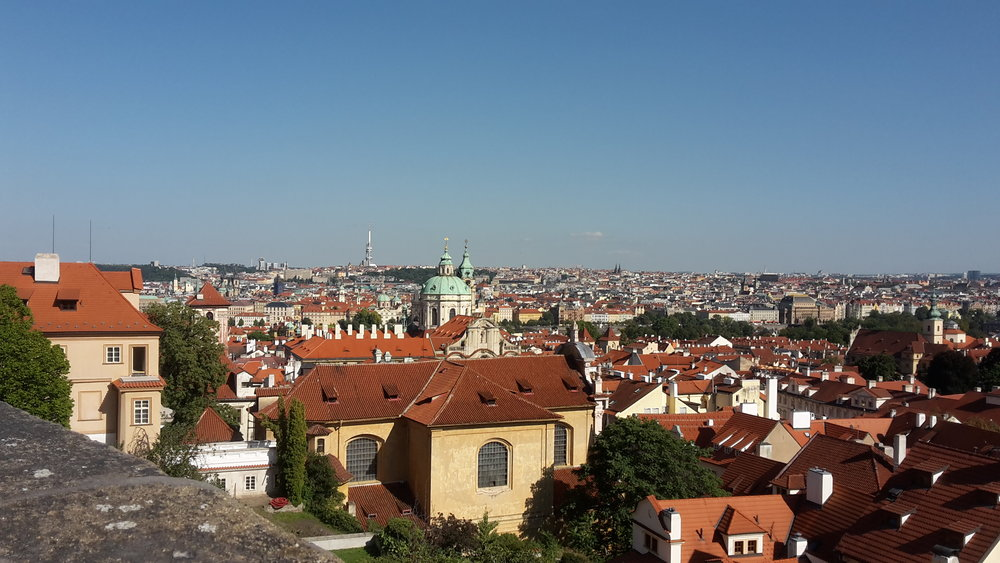 The beautiful city of Prague.