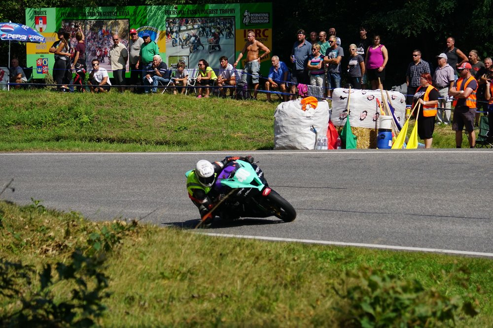 Looking a lot more comfortable during Saturday afternoon qualifying. Photo by Richard Kolsters.