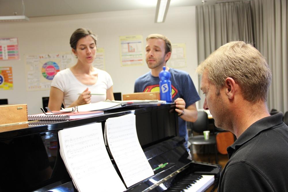 August Rehearsals