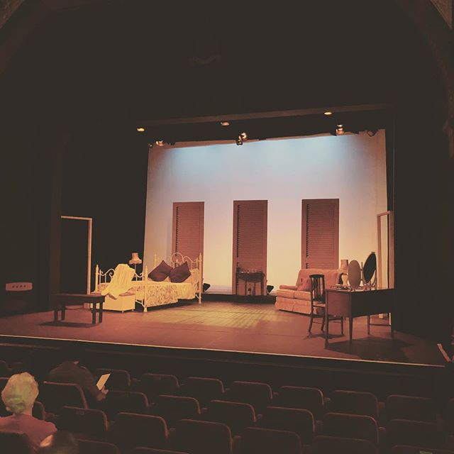 Cat on a hot tin roof. Cheltenham playhouse. Go Cleo Turley #theatre #performance