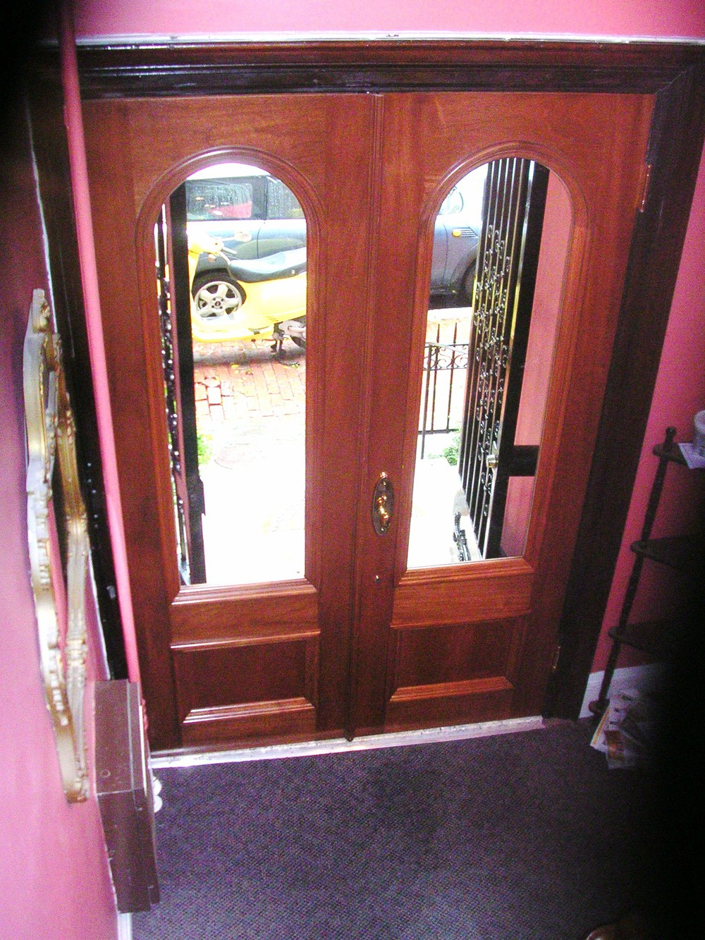 1 South End Entry Doors  Archer.JPG