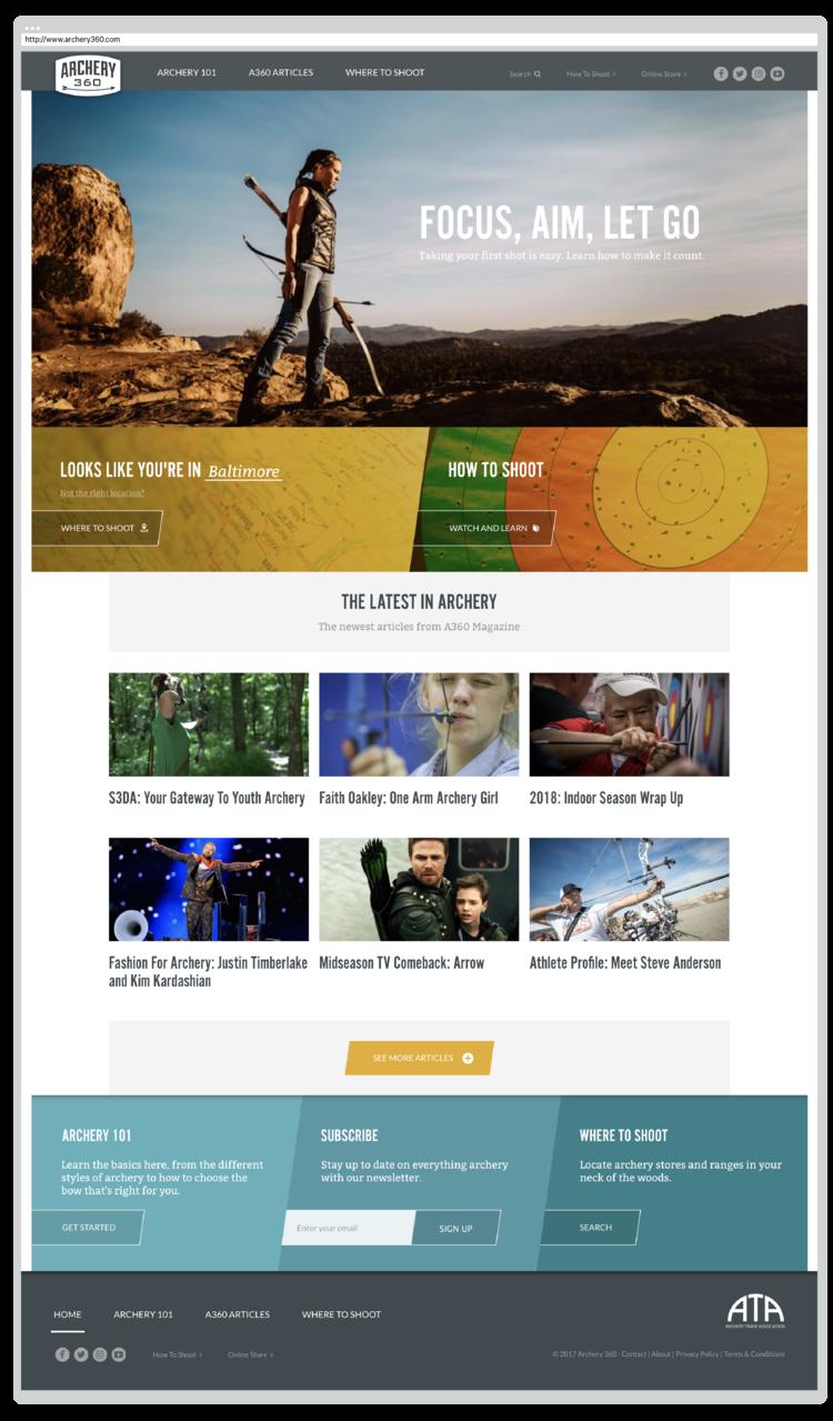 Archery Trade Association — frank hamilton