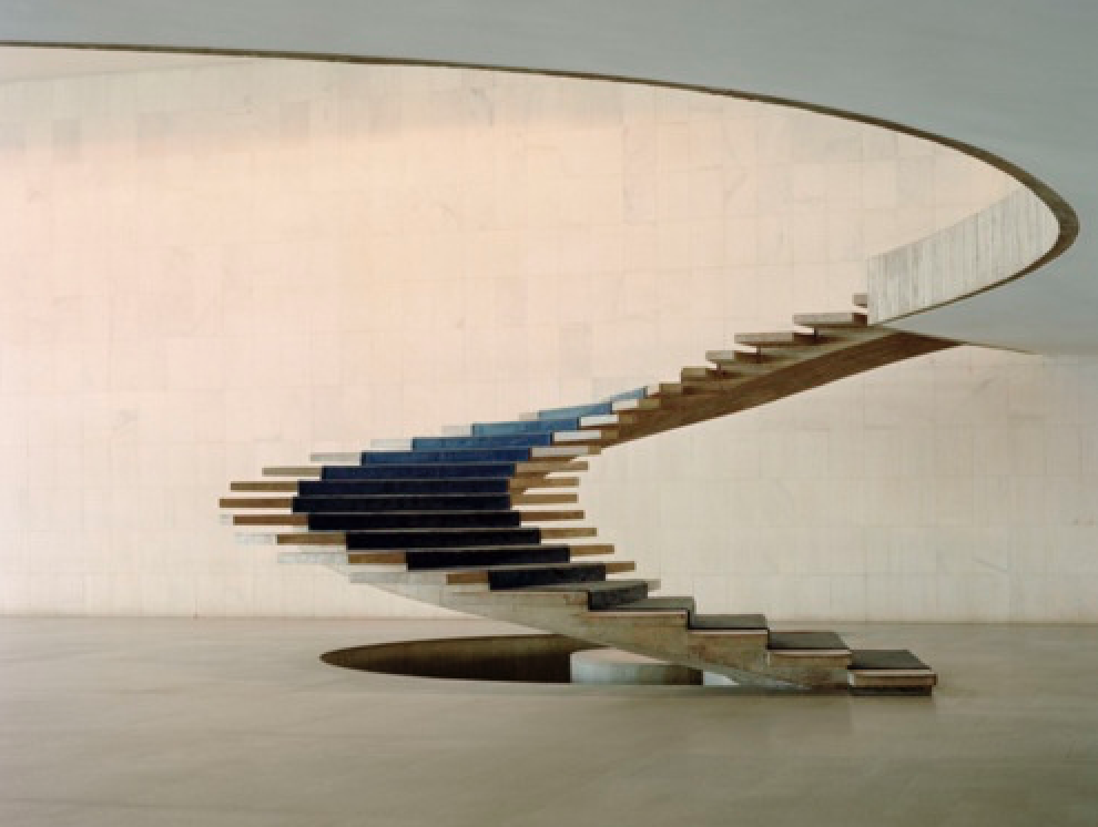 Inspiring architecture, here Oscar Niemeyer staircase, Brazil