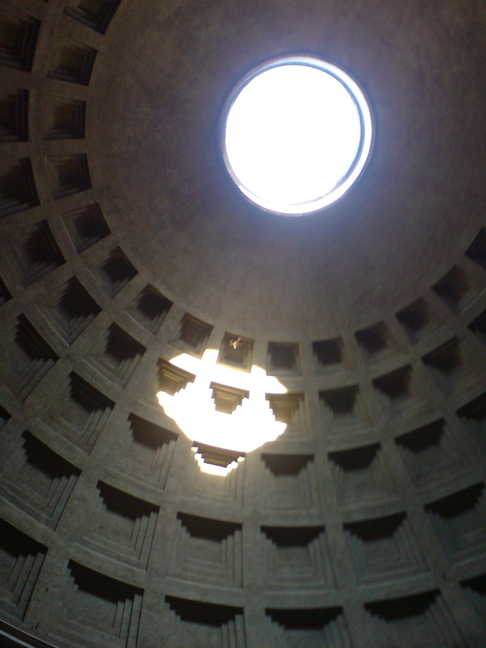 Historical structures, here the Pantheon, Rome
