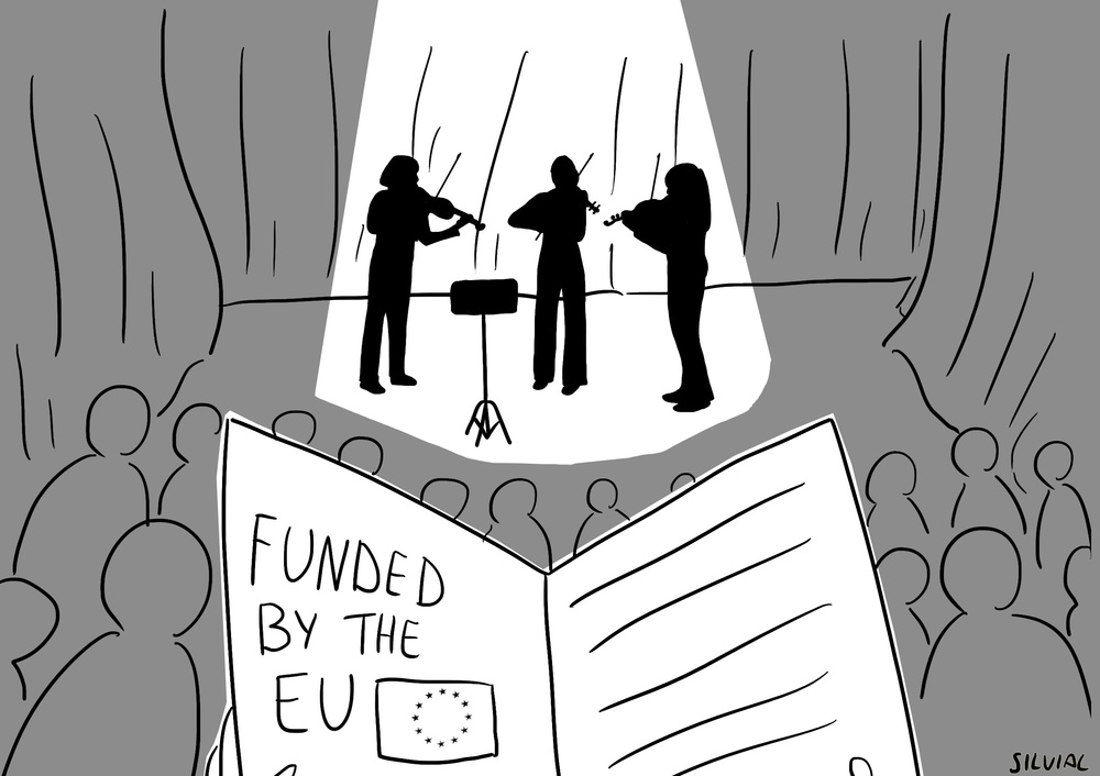 EU Cultural Funding supports considerable numbers of UK Arts Venues and Projects.