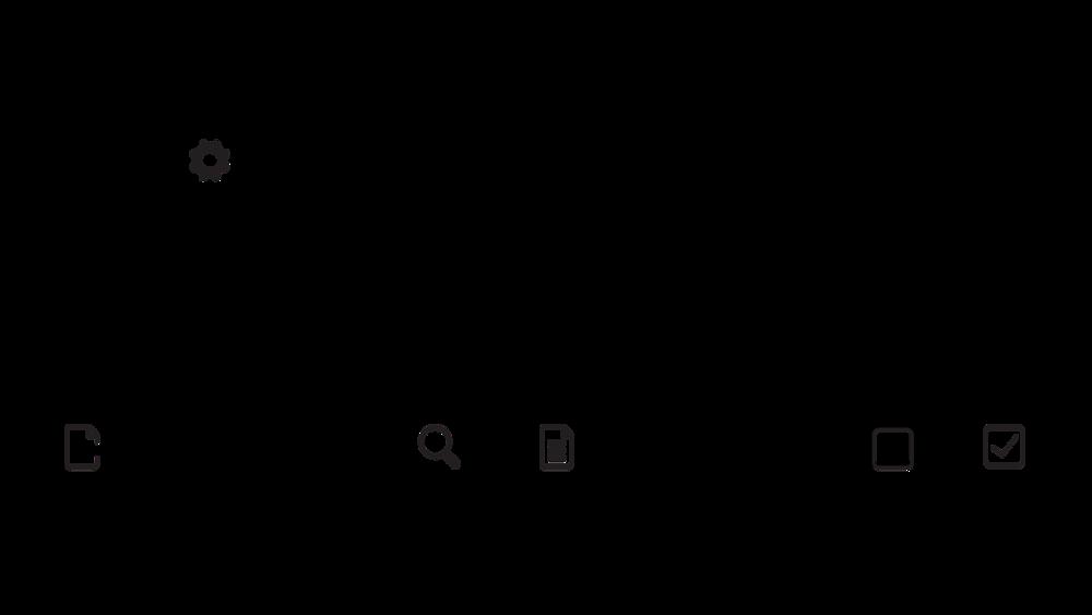 custom icon font