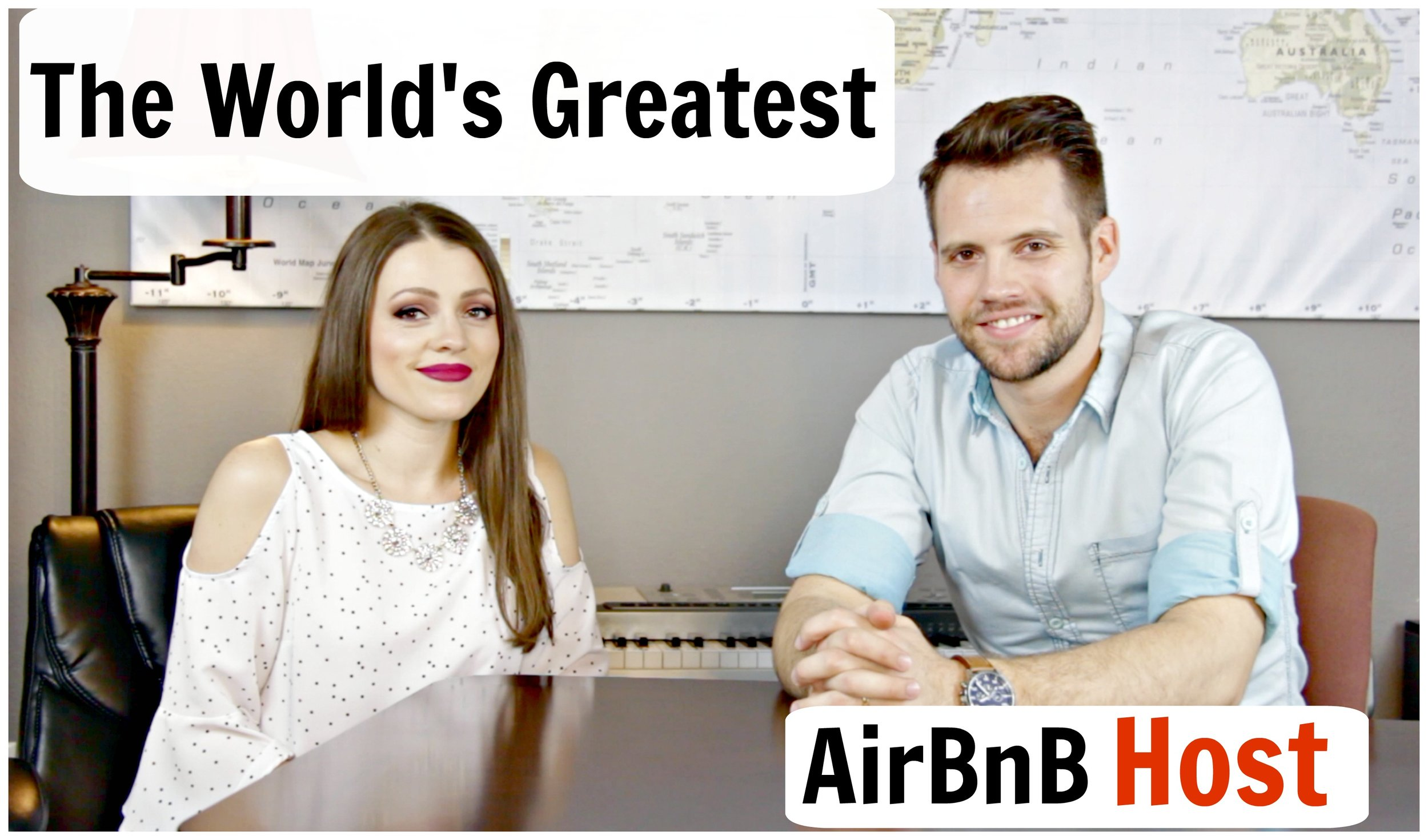 How to Be the World's Best AirBnB Host — TylerTravelsTV