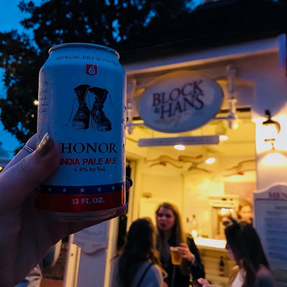 Beer at Block and Hans