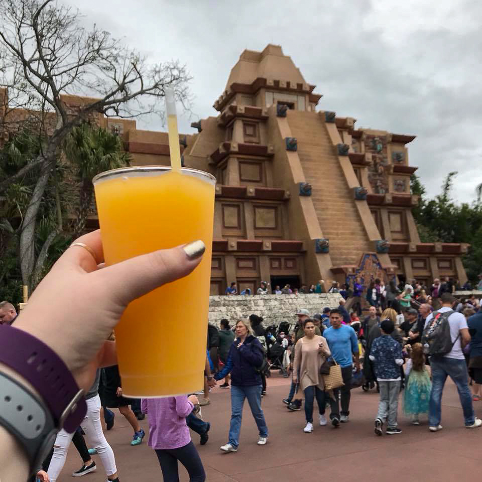 Margarita in the Mexico Pavilion