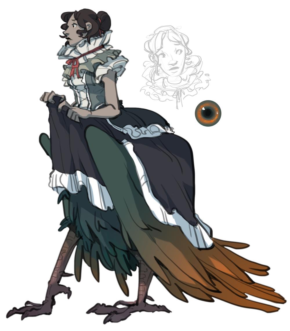 """""""Nina"""" Character Concept"""