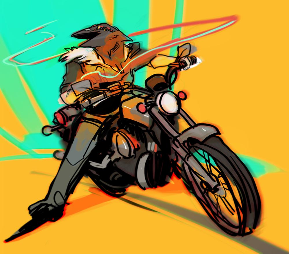"""Crow Rider"" Concept"