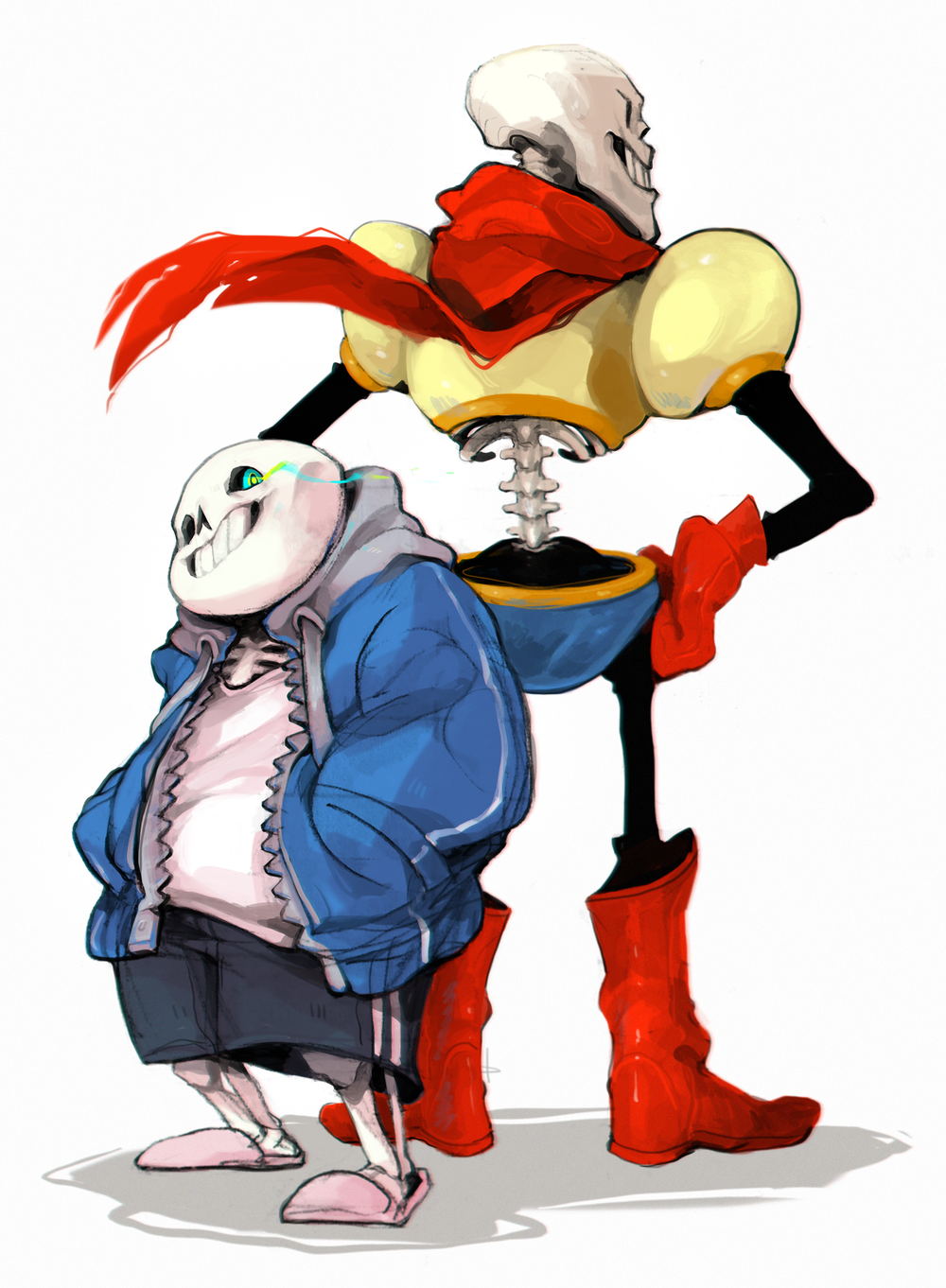 """Sans and Papyrus"""