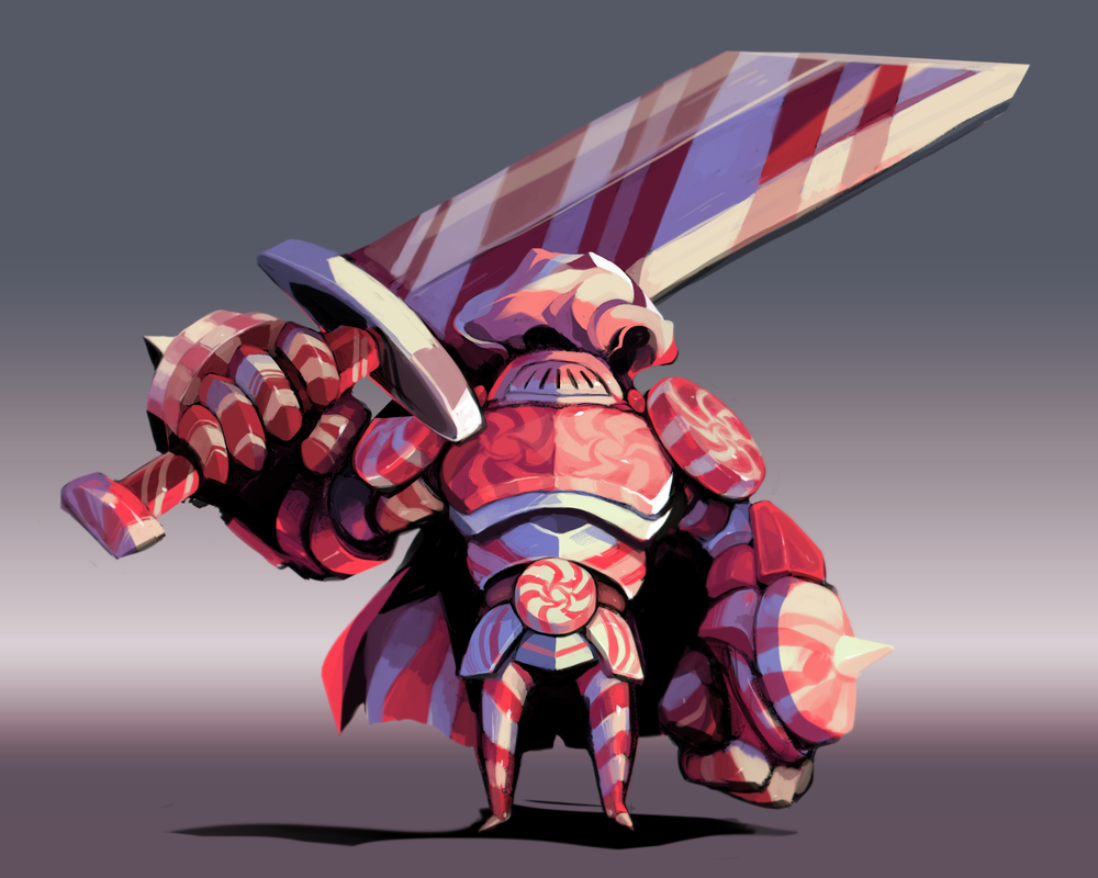 """Peppermint Knight"" Concept"