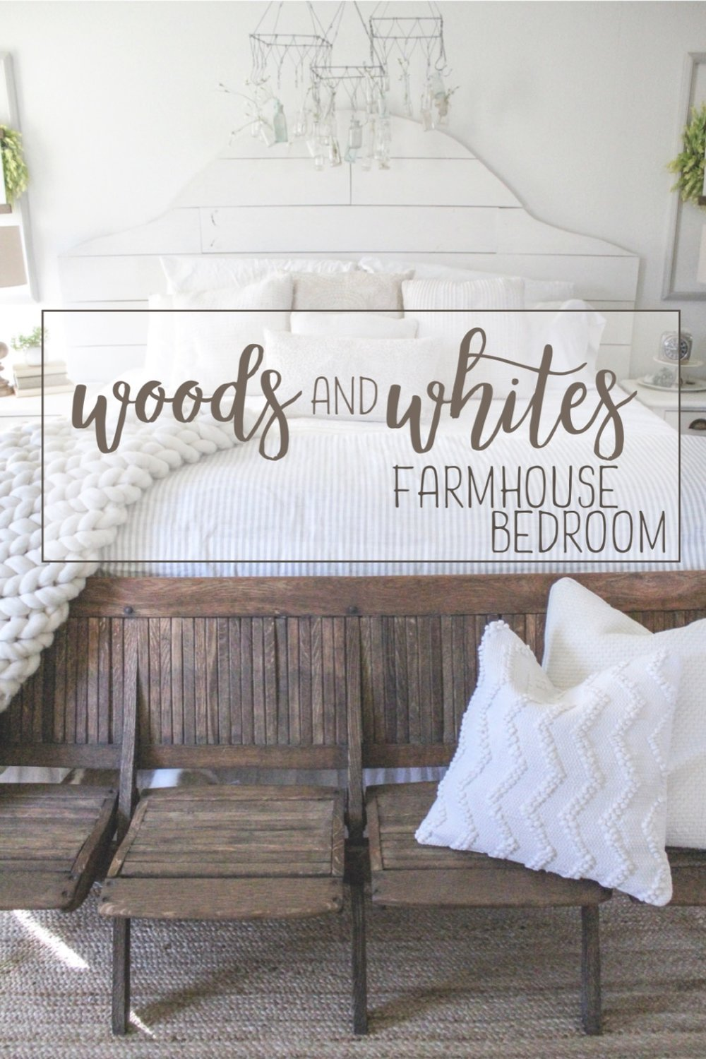Cotton Stem Blog woods and whites farmhouse bedroom