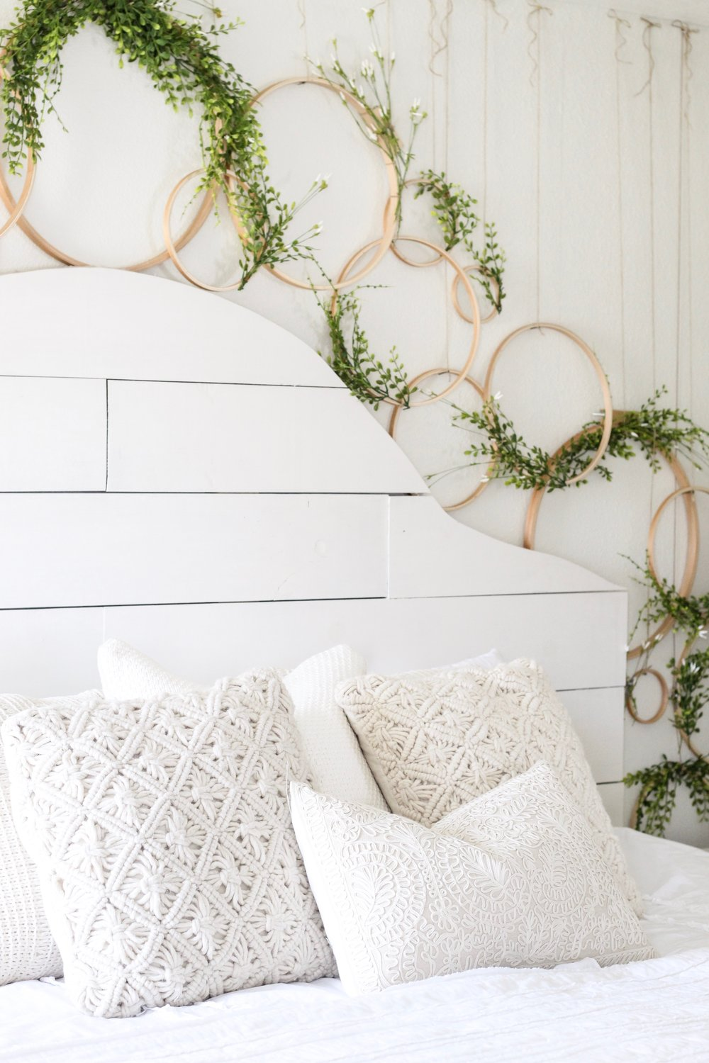 Cotton Stem Blog wreath wall spring decor shiplap headboard farmhouse bedroom.jpg