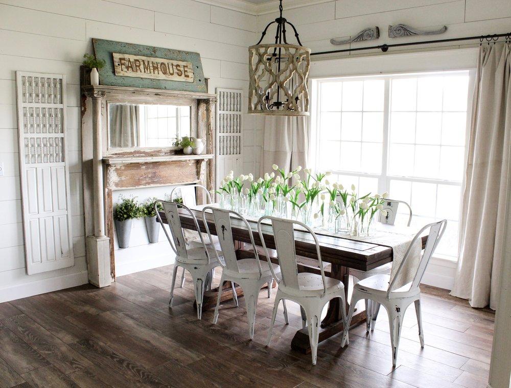CottonStem.com blog farmhouse dining room shiplap spring decor.jpg