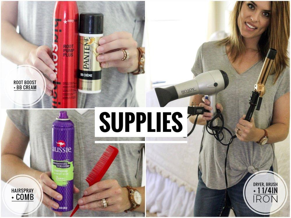 CottonStem.com hair tutorial lob supplies