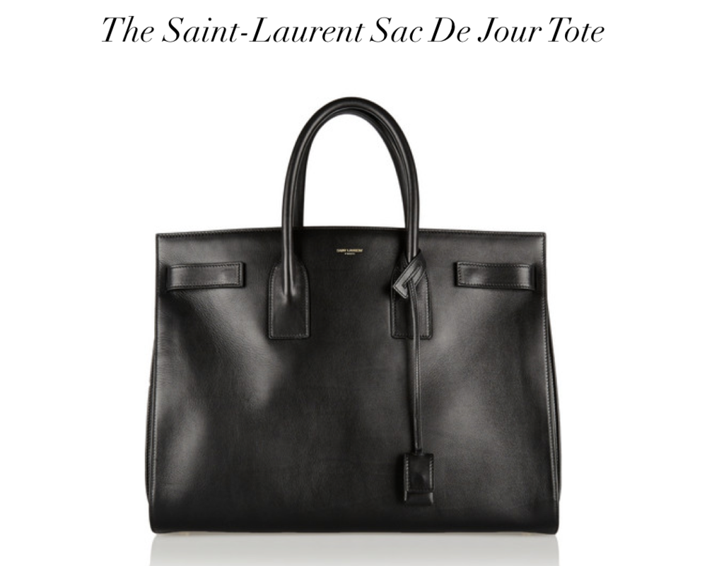 The Moderna - Saint Laurent Sac De Jour Tote