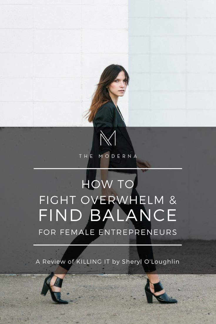 Feeling Overwhelmed and Finding Balance for female entreprneurs
