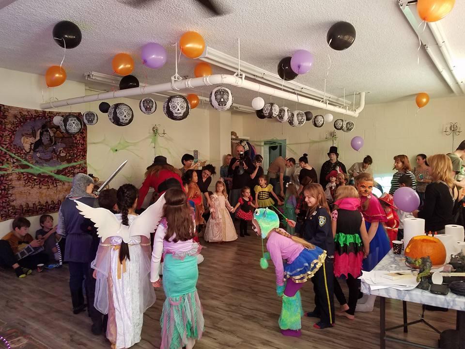 Manasa Yoga Studio Halloween Party for Kids