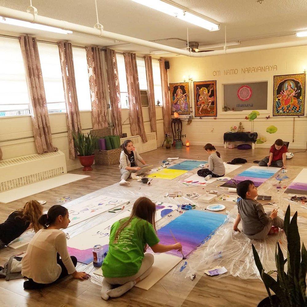 Manasa Yoga Studio Painting Art Therapy