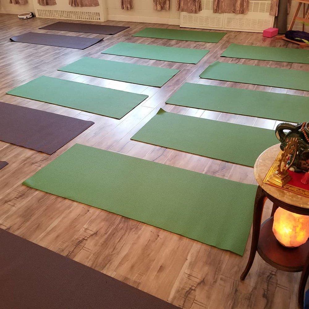 Manasa Yoga Studio Inside Yoga Mats