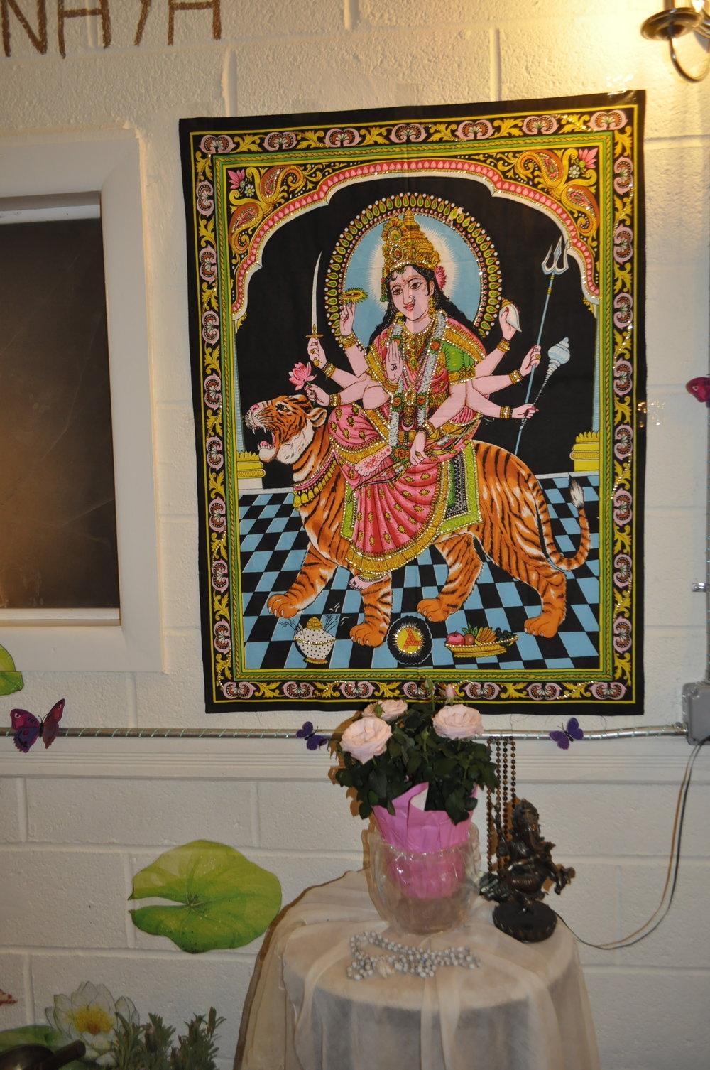 Manasa Yoga and Ayurveda Studio Durga Goddess
