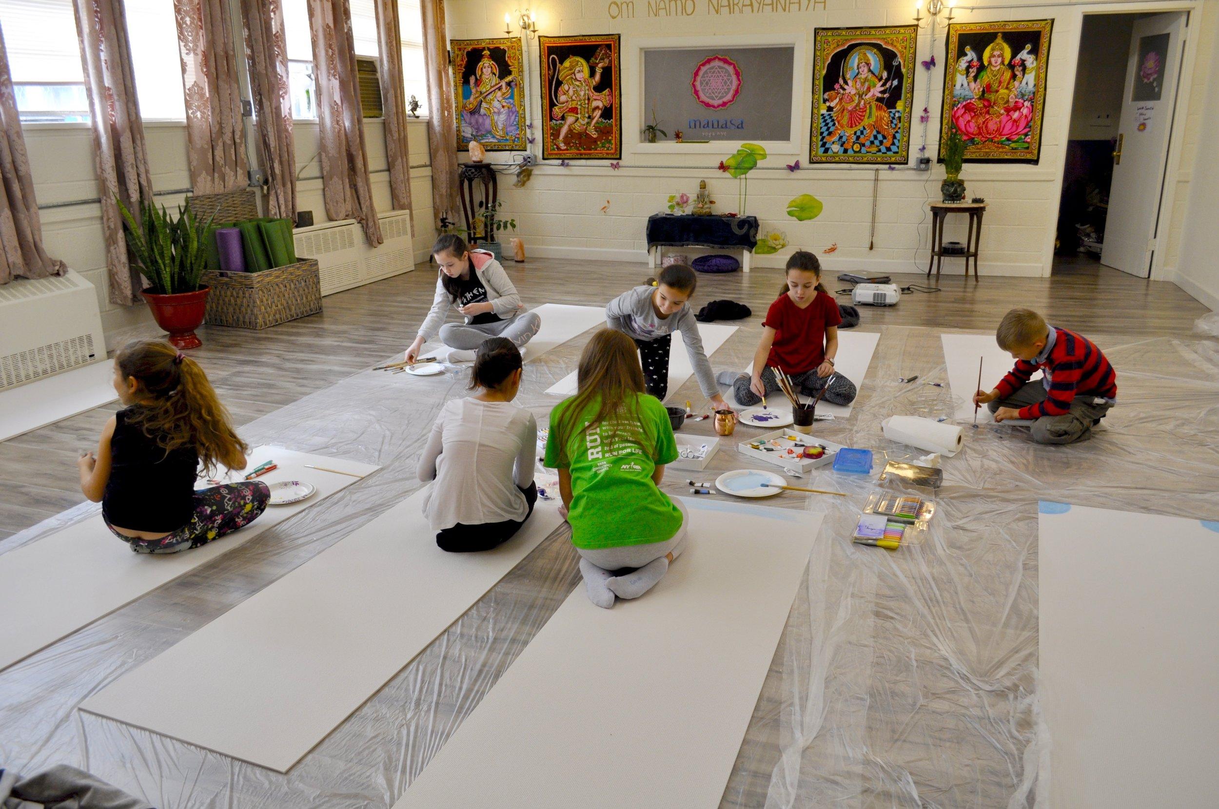 Paint Your Yoga Mat! Workshop with Masha!