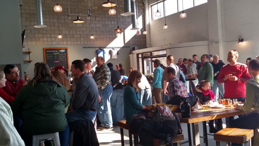 Fair Winds Brewing taproom