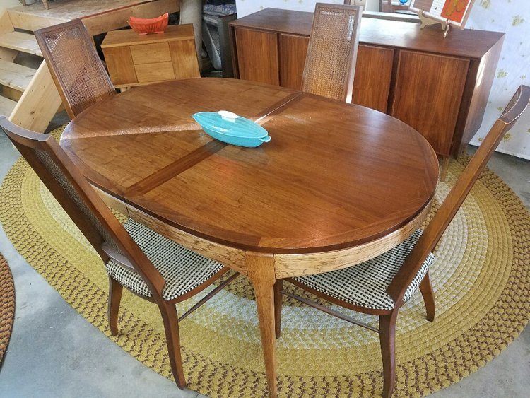 Rhythm by Lane, the handsome dining table — Mid Century Modern Furniture