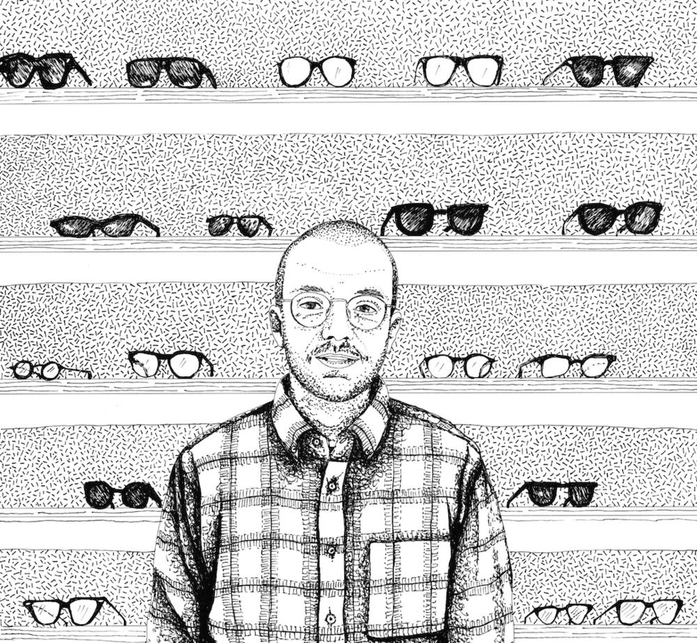 Monsieur Lunettes, eye glass designer, Paris