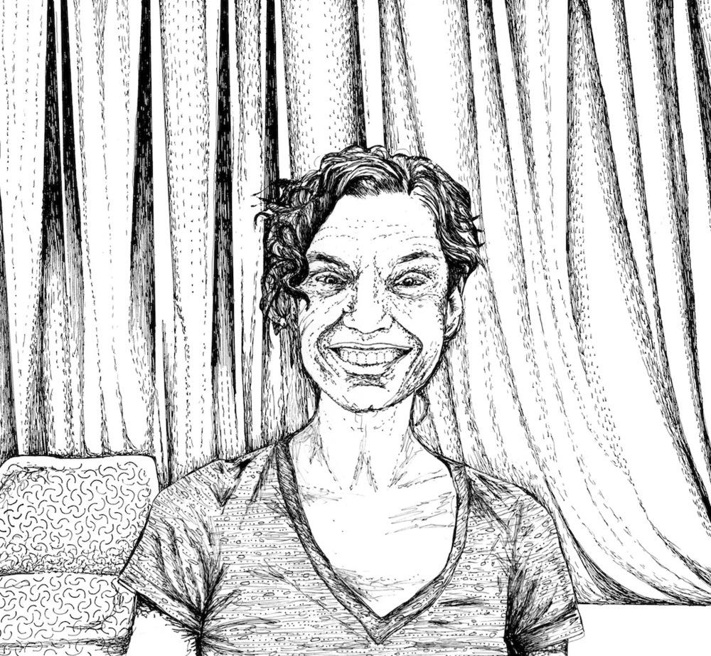 Lia, choreographer, Rio de Janeiro