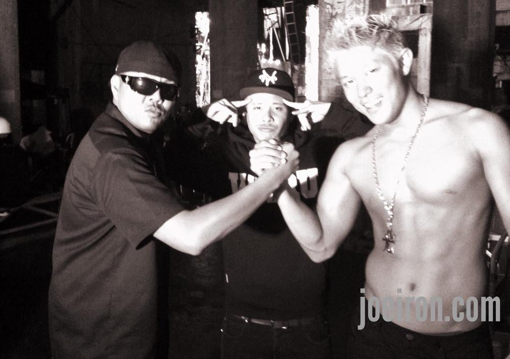 JOE IRON, SIMON & Ryohei Suzuki