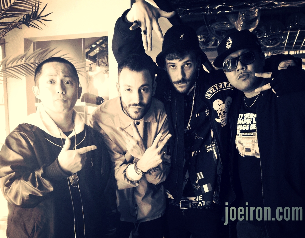 SEEDA, Homies from France & JOE IRON