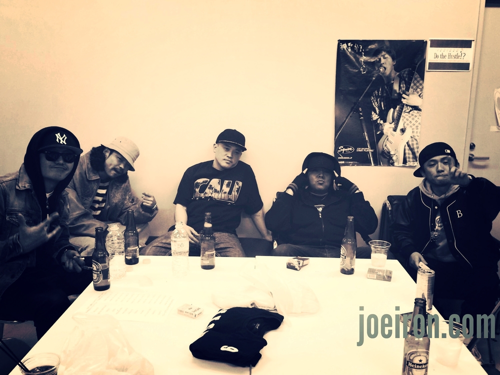 Habiscream, Sticky, Eazzy, JOE IRON & Seeda