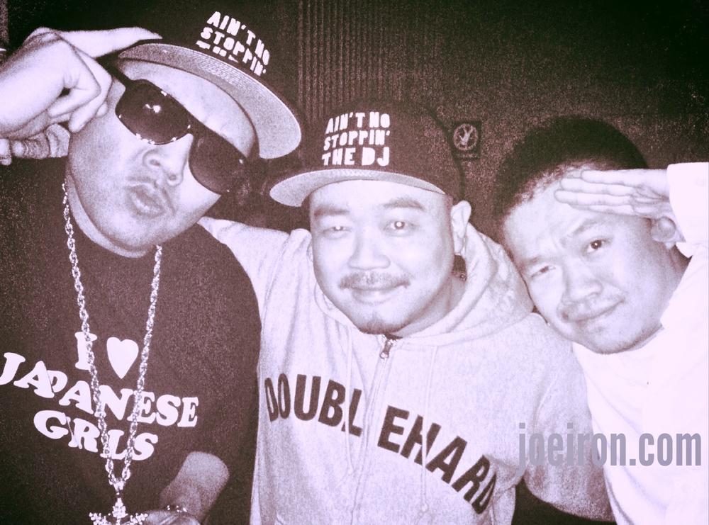 JOE IRON, DJ HAZIME & DJ WATARAI