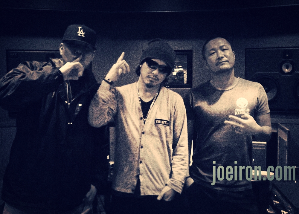 JOE IRON, ZANG HAOZI & Kataokaさん (Engineer)