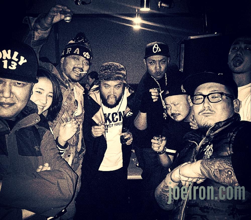 DJ NOBU aka Bombrush, 4WD, Mikris, JOE IRON, EGO & DAZU-O
