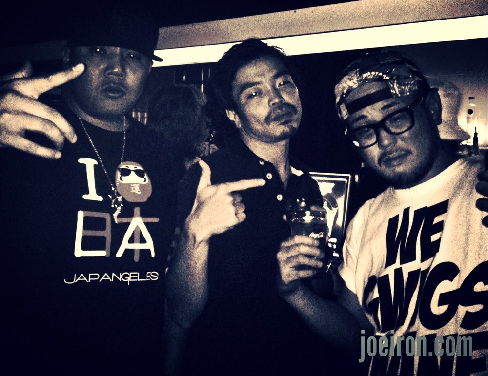 JOE IRON, STICKY & GUNHEAD (Habanero Posse)